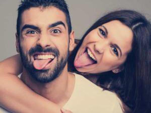Witziges Paar
